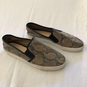 Banana Republic Snakeskin Loafers